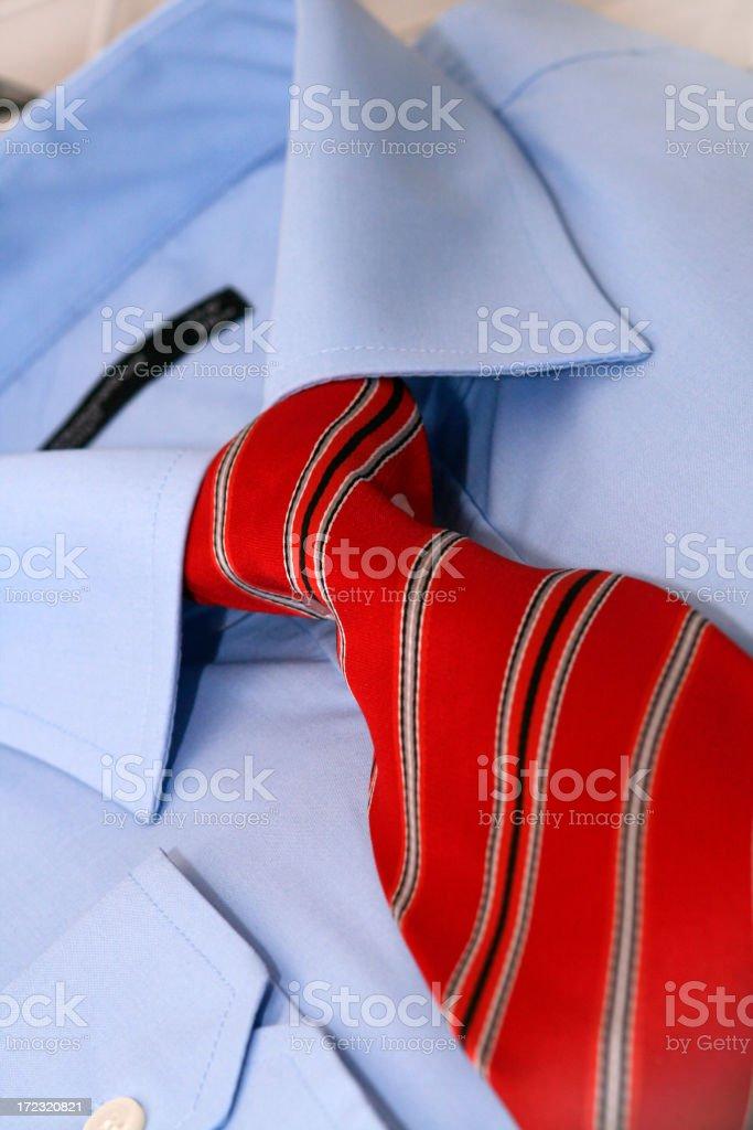 Business man's shirt royalty-free stock photo