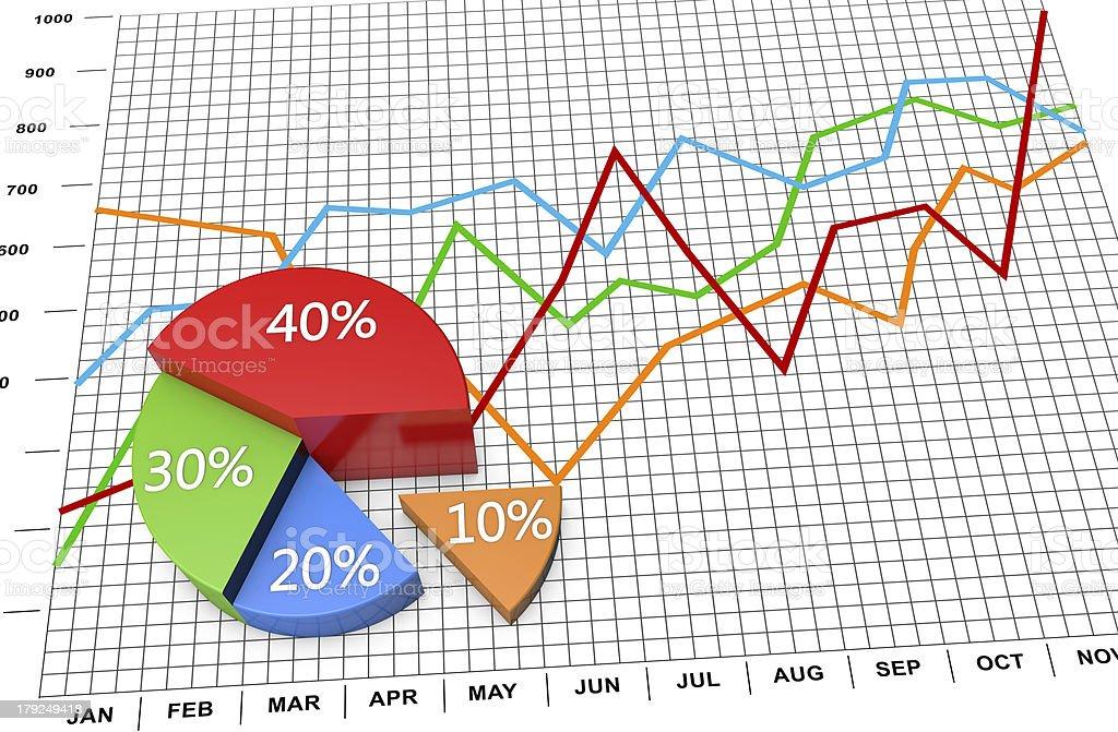 Business marketing stock photo