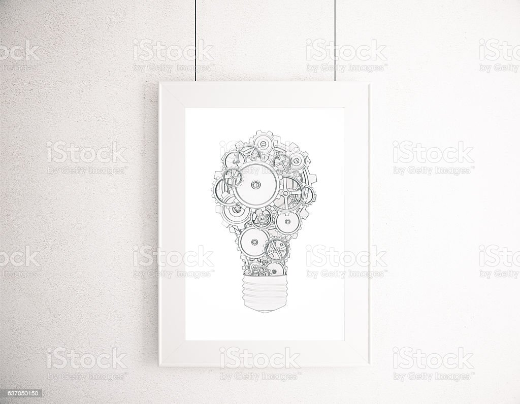 Business mechanism concept stock photo