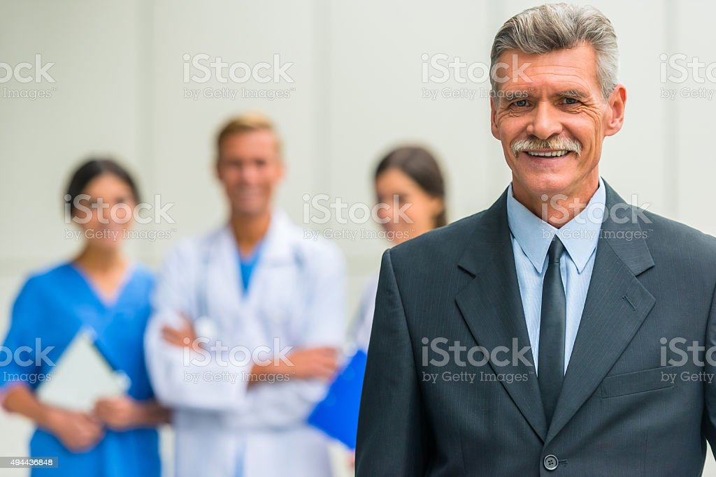 Business & medicine stock photo