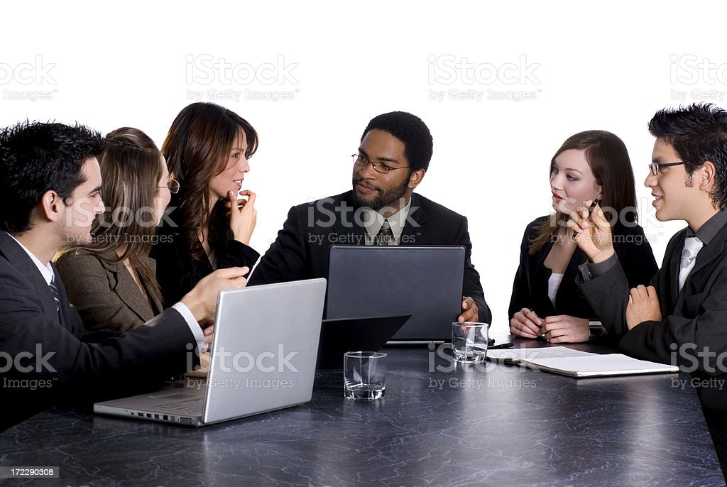 Business meeting 5 royalty-free stock photo