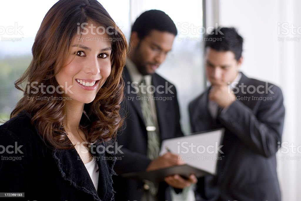 Business meeting 6 royalty-free stock photo