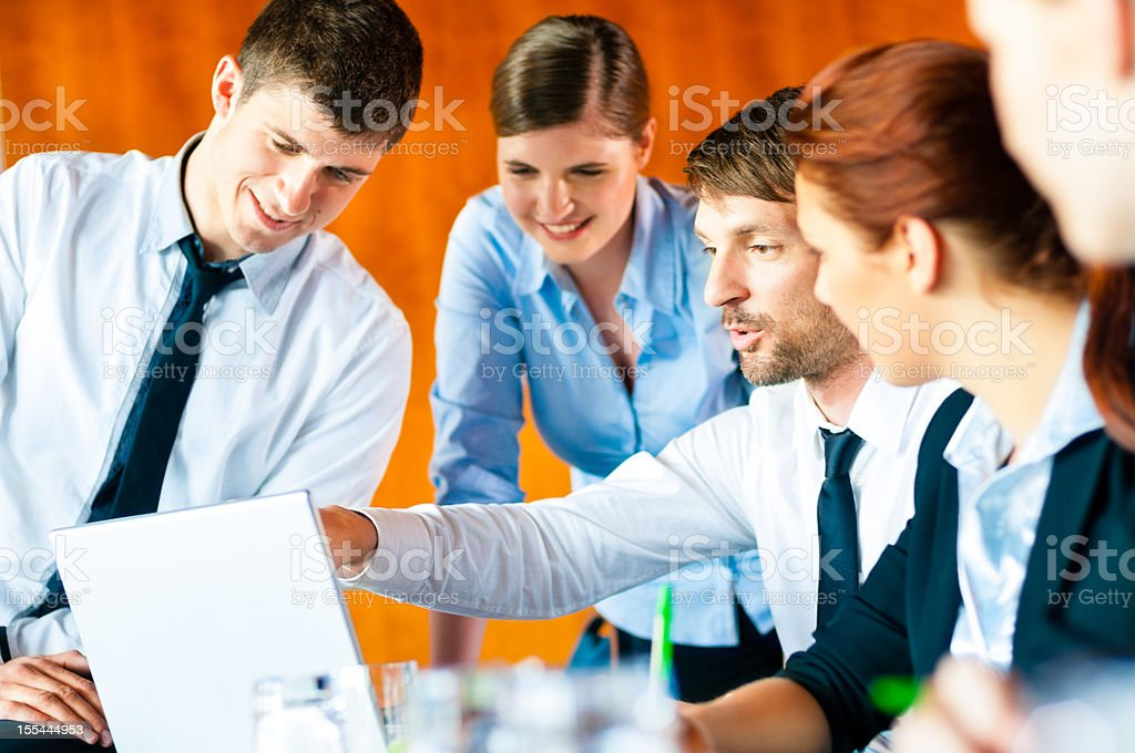 Business Meeting Discussion royalty-free stock photo