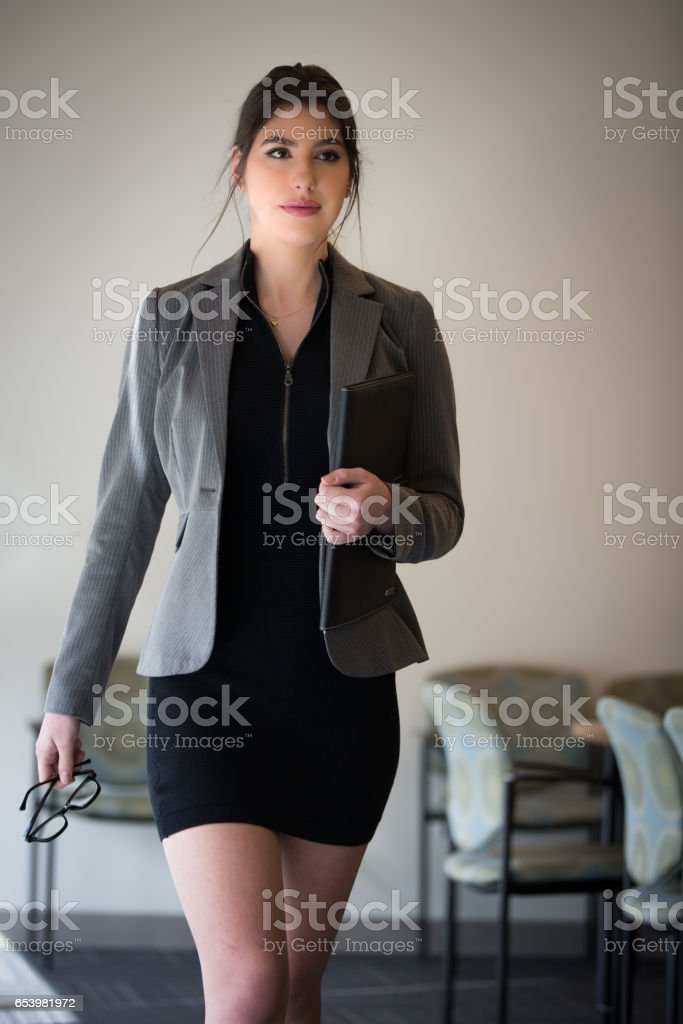 Business Meeting - Female stock photo