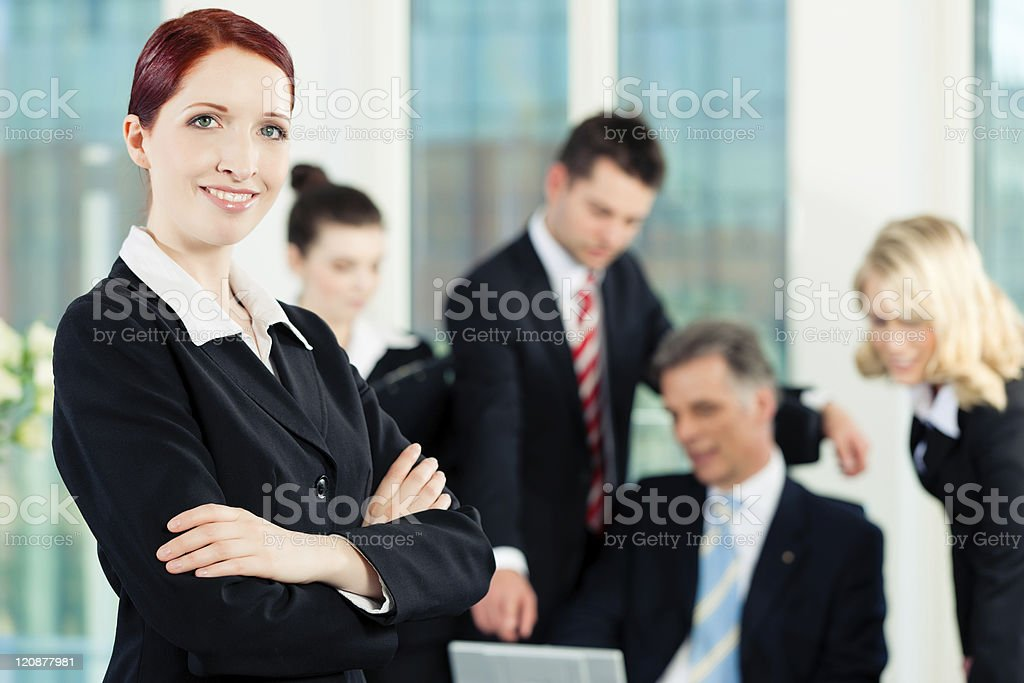 Business - meeting in an office royalty-free stock photo