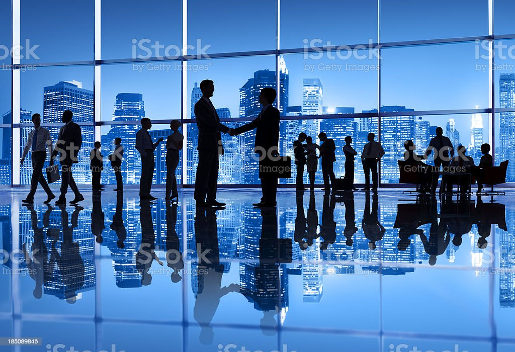 Business meeting in the city. royalty-free stock photo