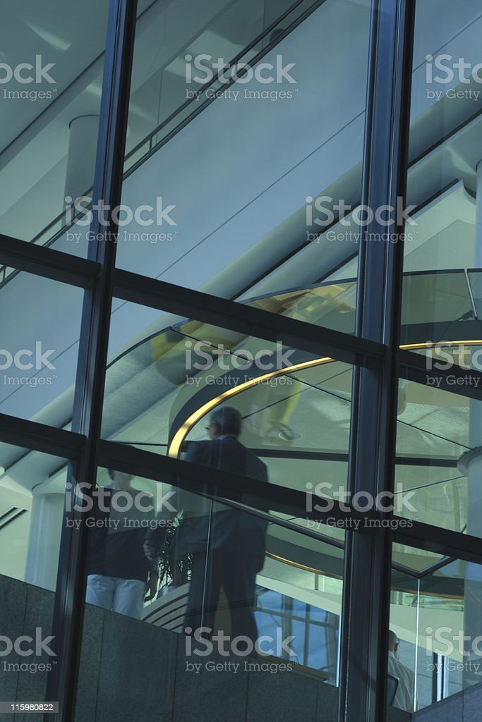 Business Meeting in the Lobby royalty-free stock photo