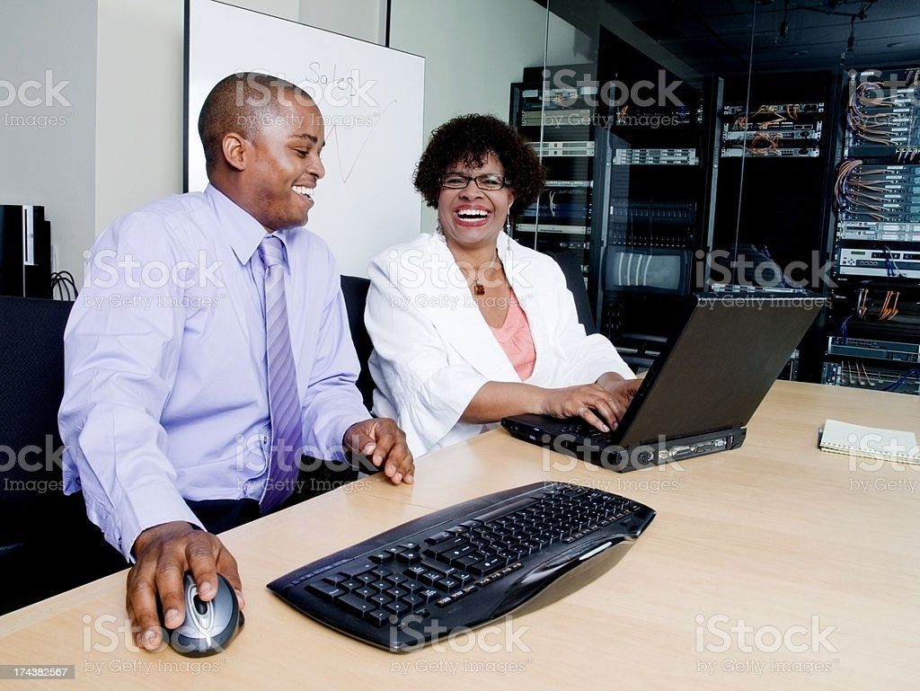 Business Meeting Laughter royalty-free stock photo