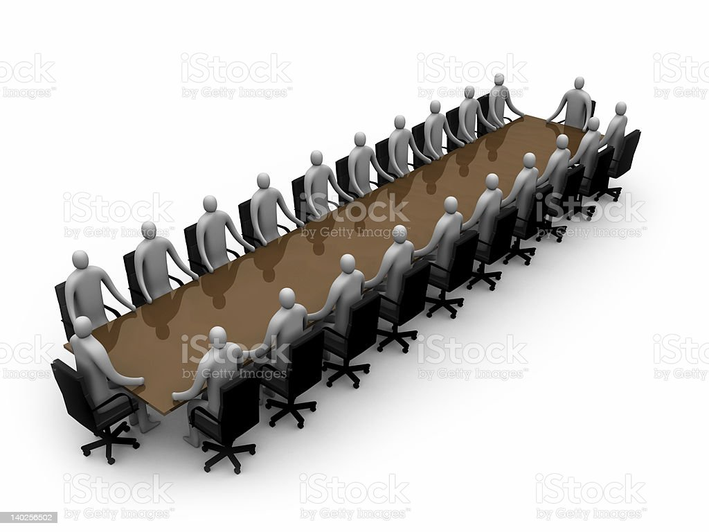 Business - Meeting royalty-free stock photo