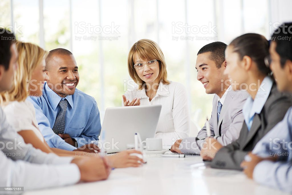 Business meeting. royalty-free stock photo