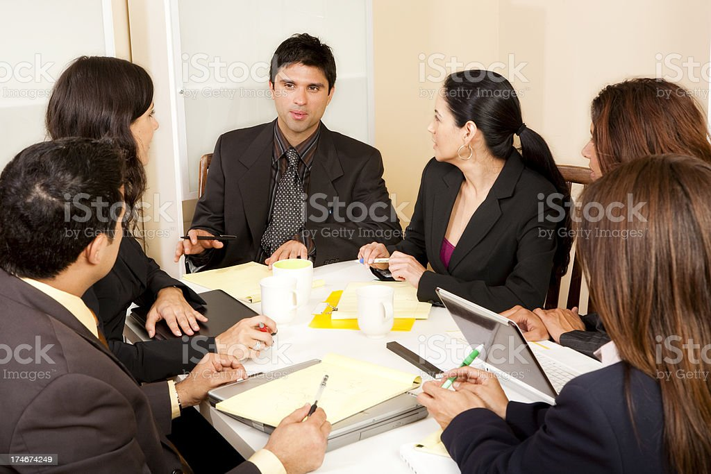 Business Meeting royalty-free stock photo