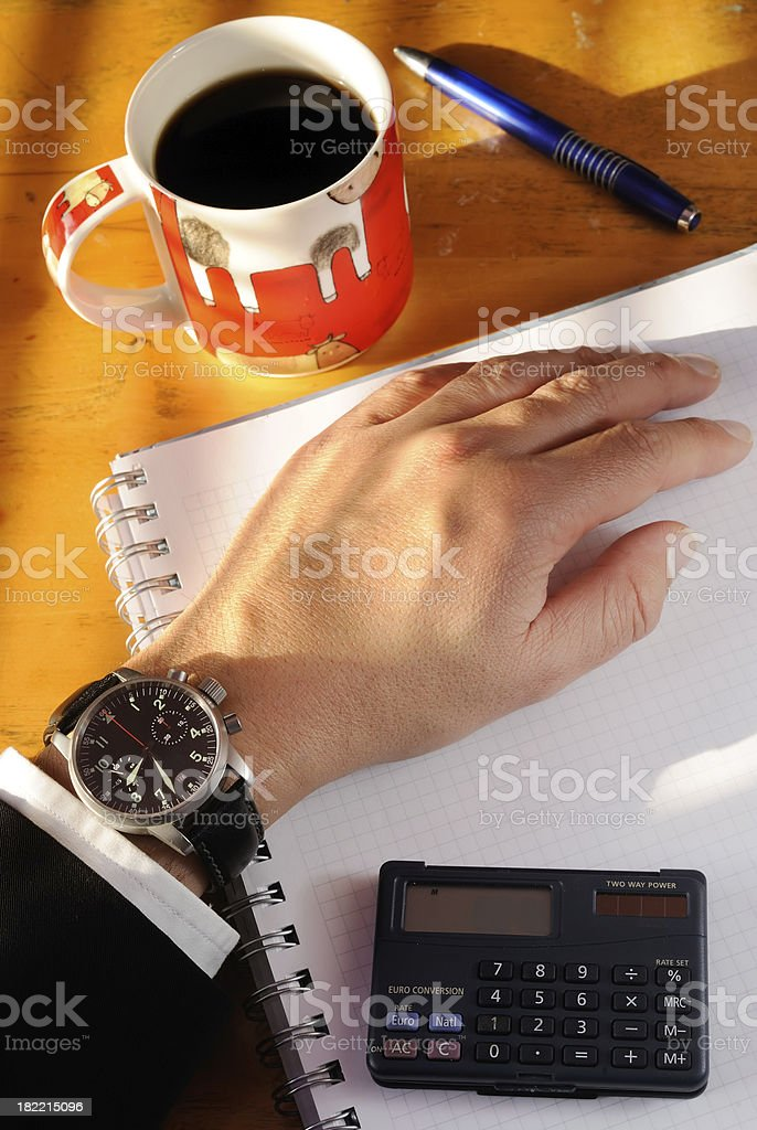 8:30 business meeting stock photo