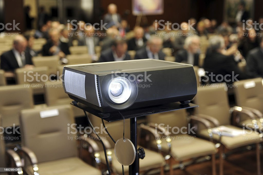 Business meeting presentation stock photo