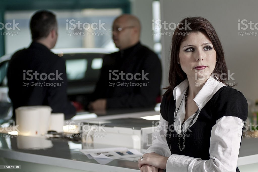 Business Meeting Series royalty-free stock photo