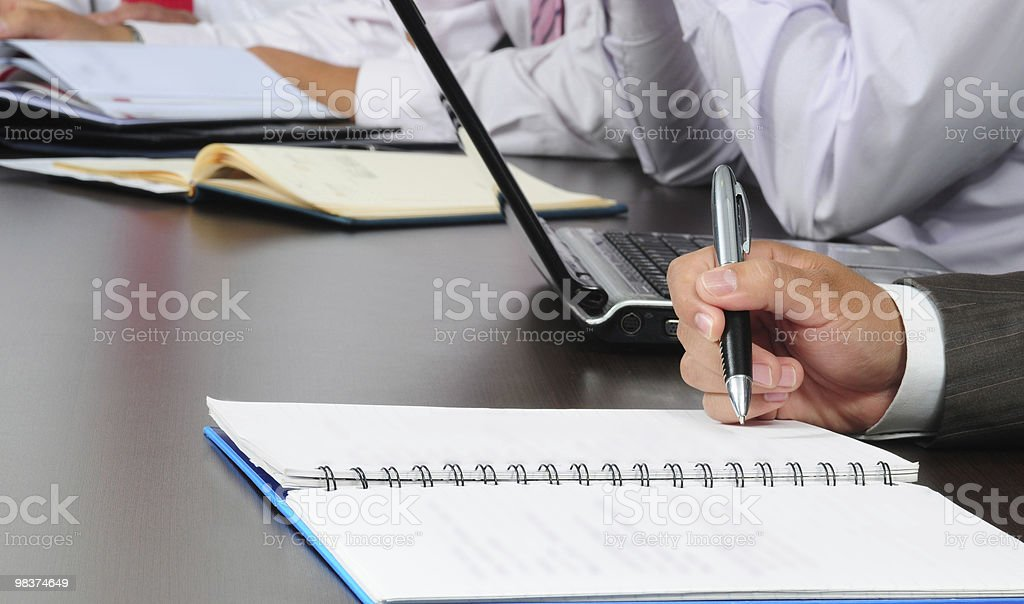Business meeting. series, see more... royalty-free stock photo