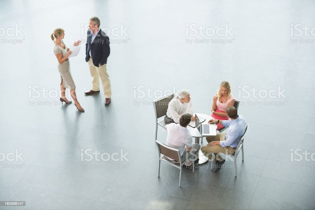 Business Meetings royalty-free stock photo