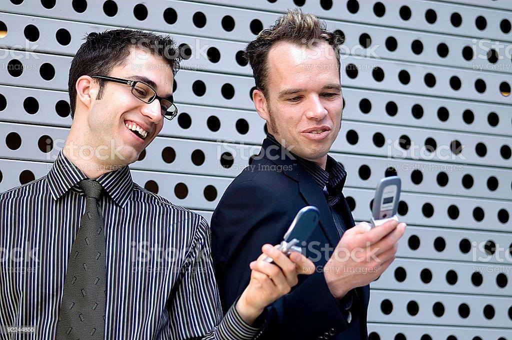 Business Men - Conversation 1 royalty-free stock photo