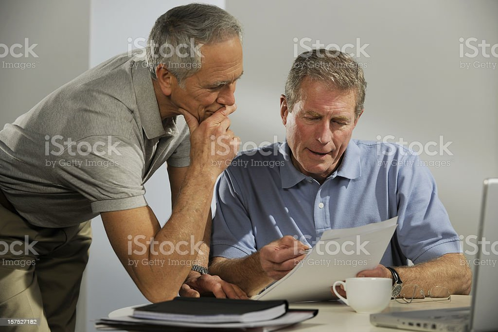 business men in casual clothes royalty-free stock photo