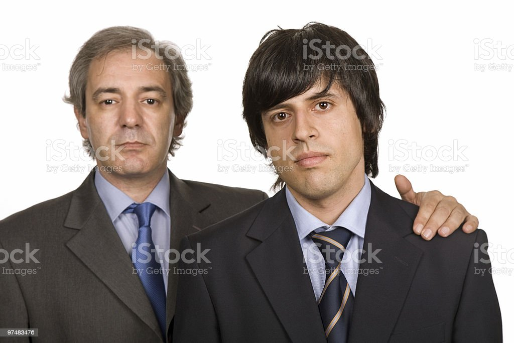 business men royalty-free stock photo