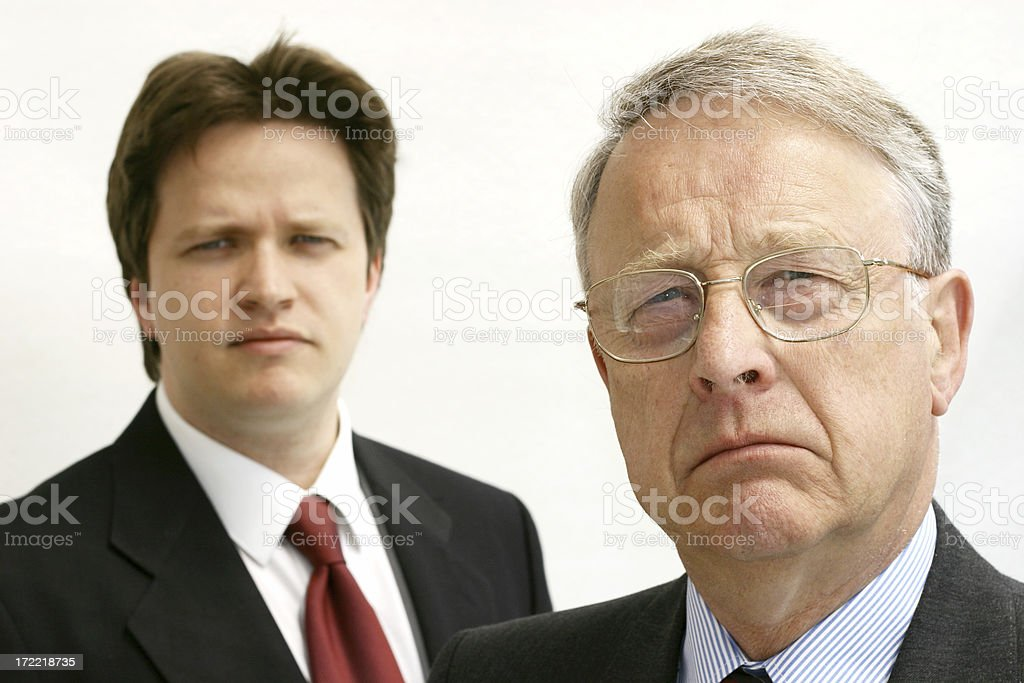 Business Men Top Executives royalty-free stock photo