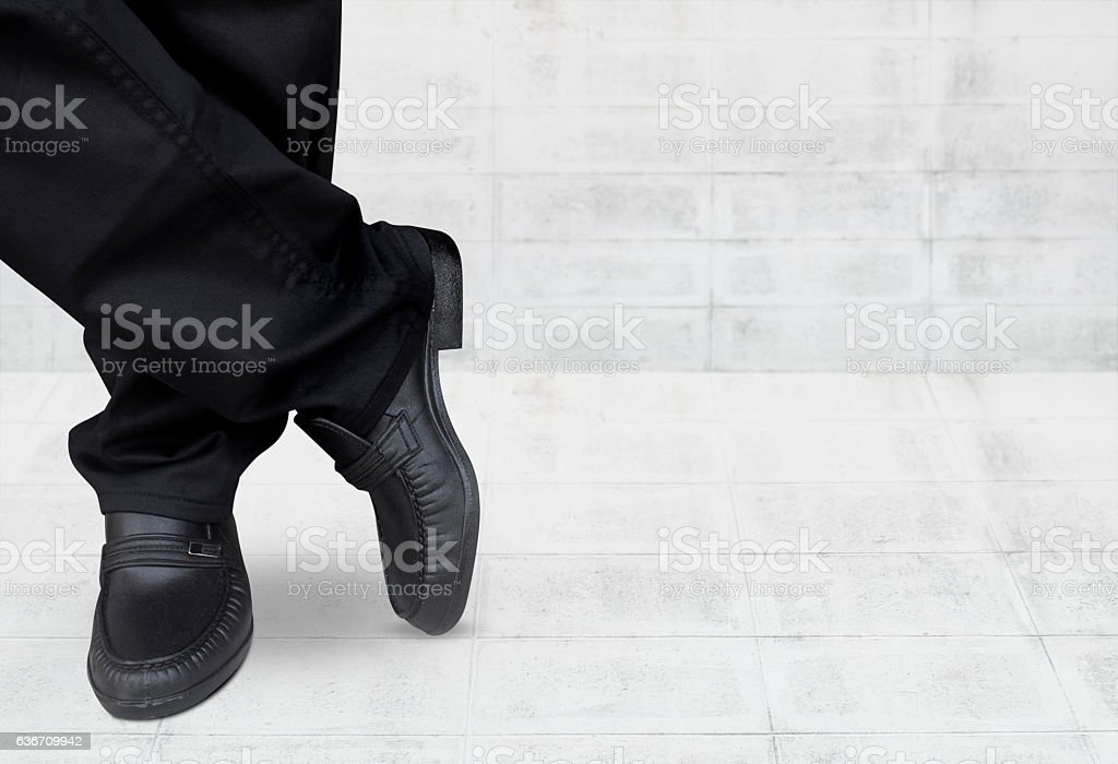 business men wait for something stock photo