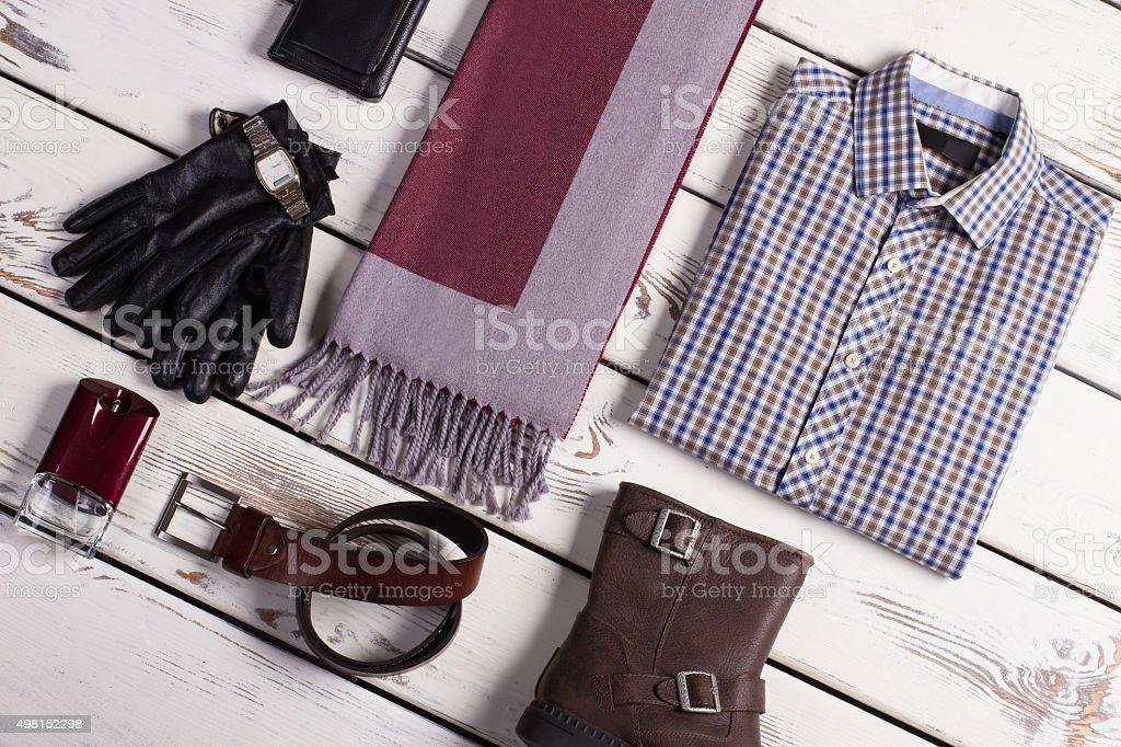 Business menswear. stock photo
