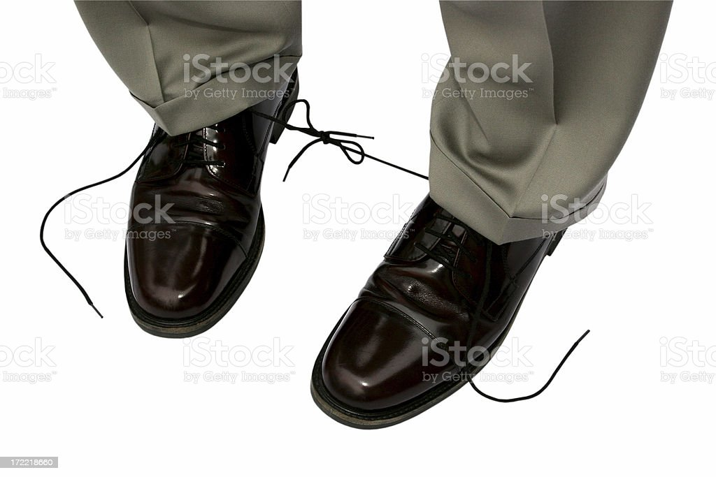 Business Mistakes Isolated royalty-free stock photo