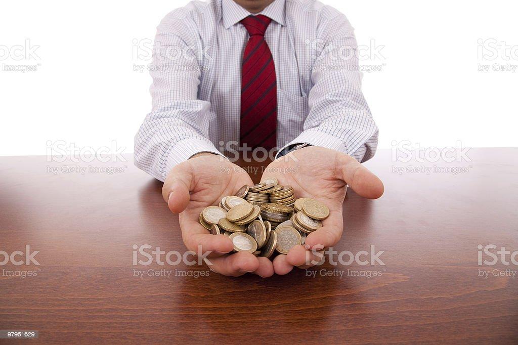 Business money royalty-free stock photo