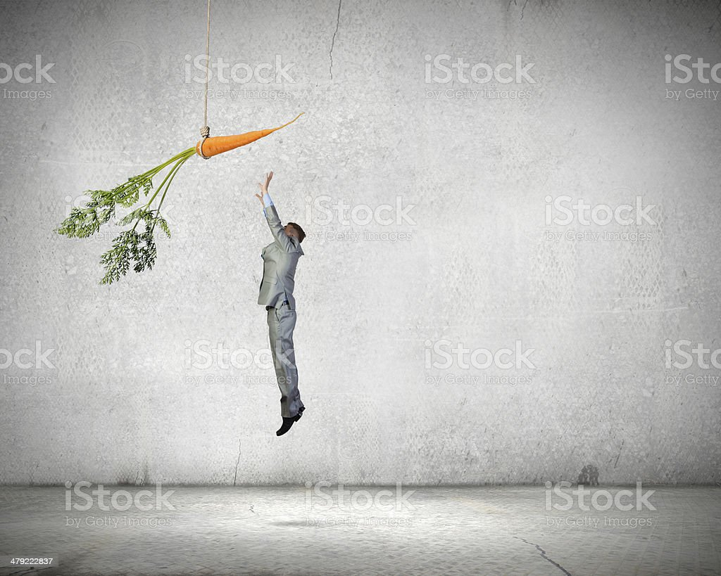 Business motivation stock photo