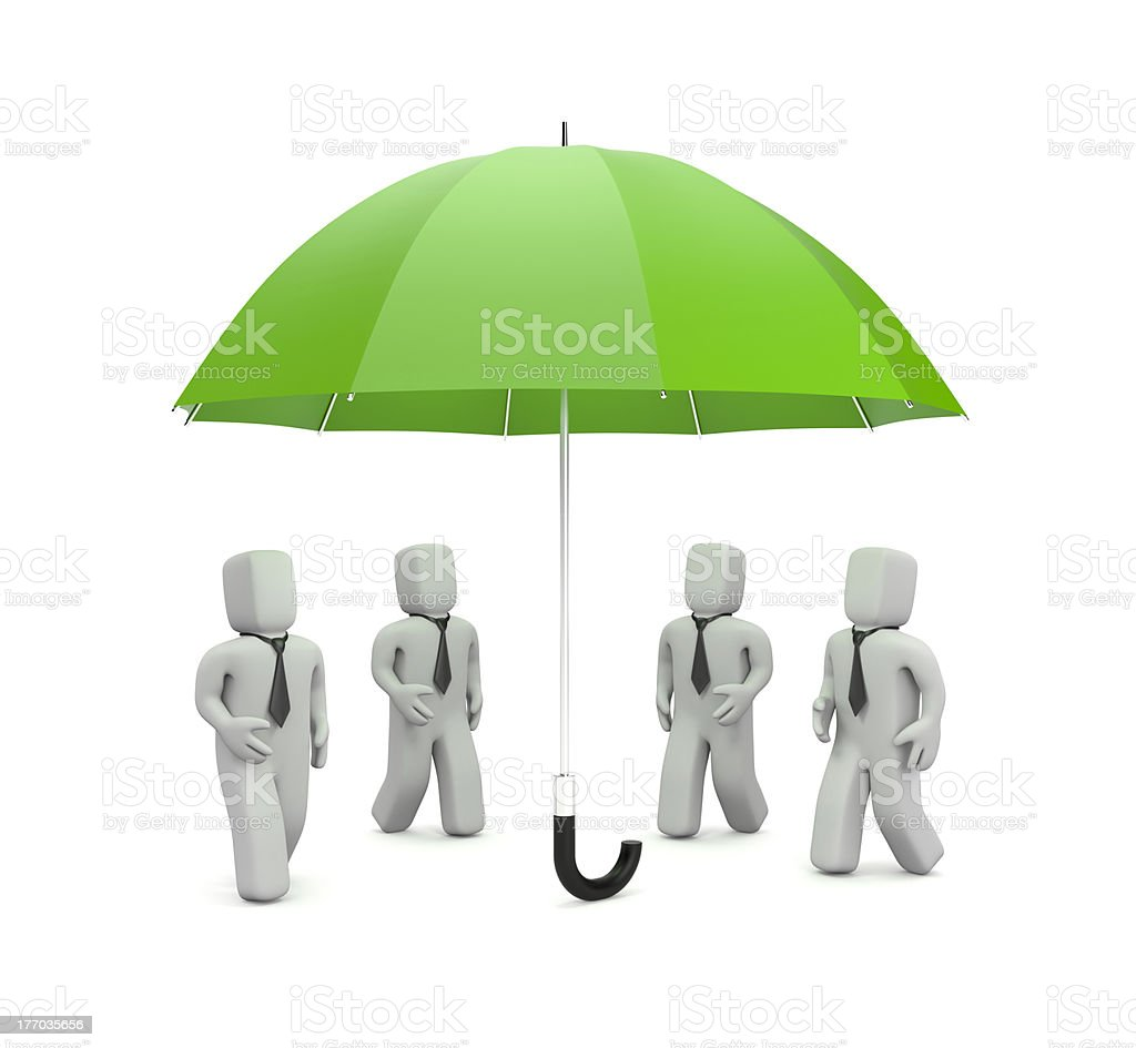 Business need protection royalty-free stock photo