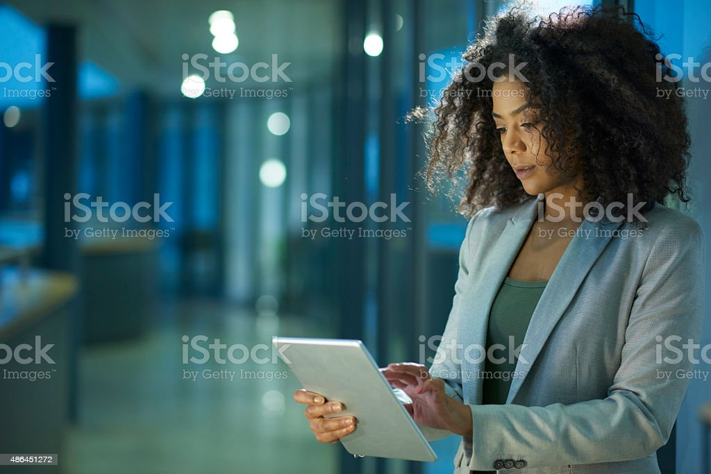 business never sleeps stock photo
