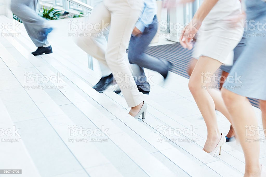 Business never stops stock photo