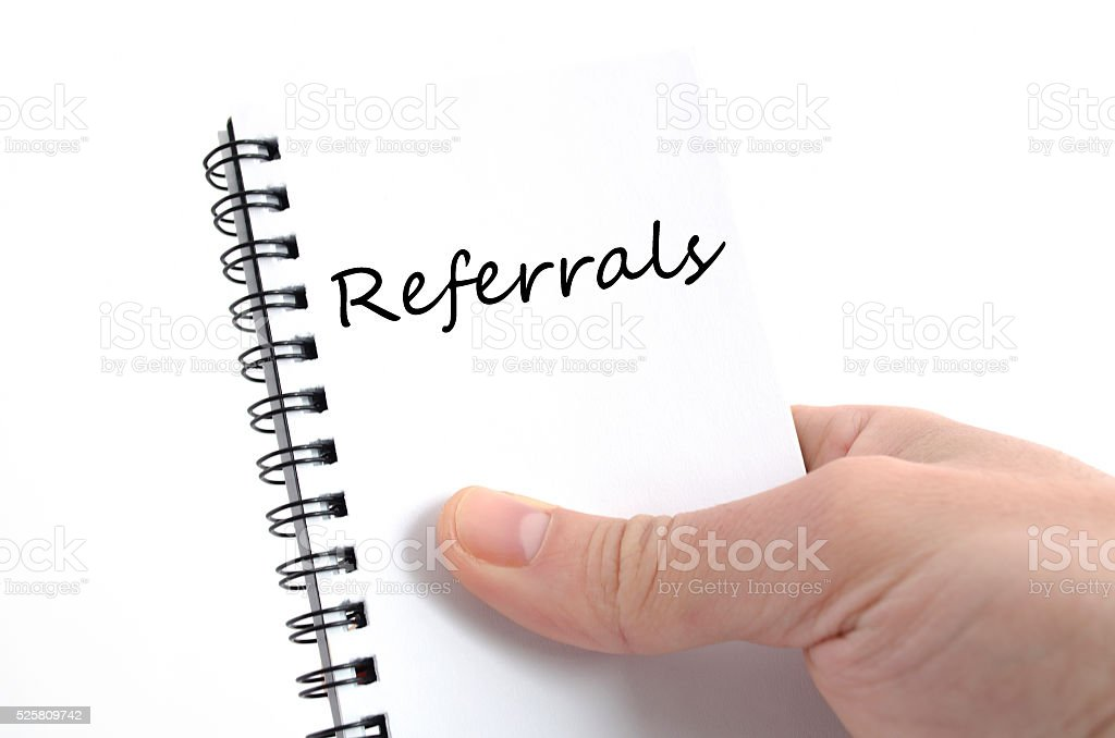 Business note stock photo