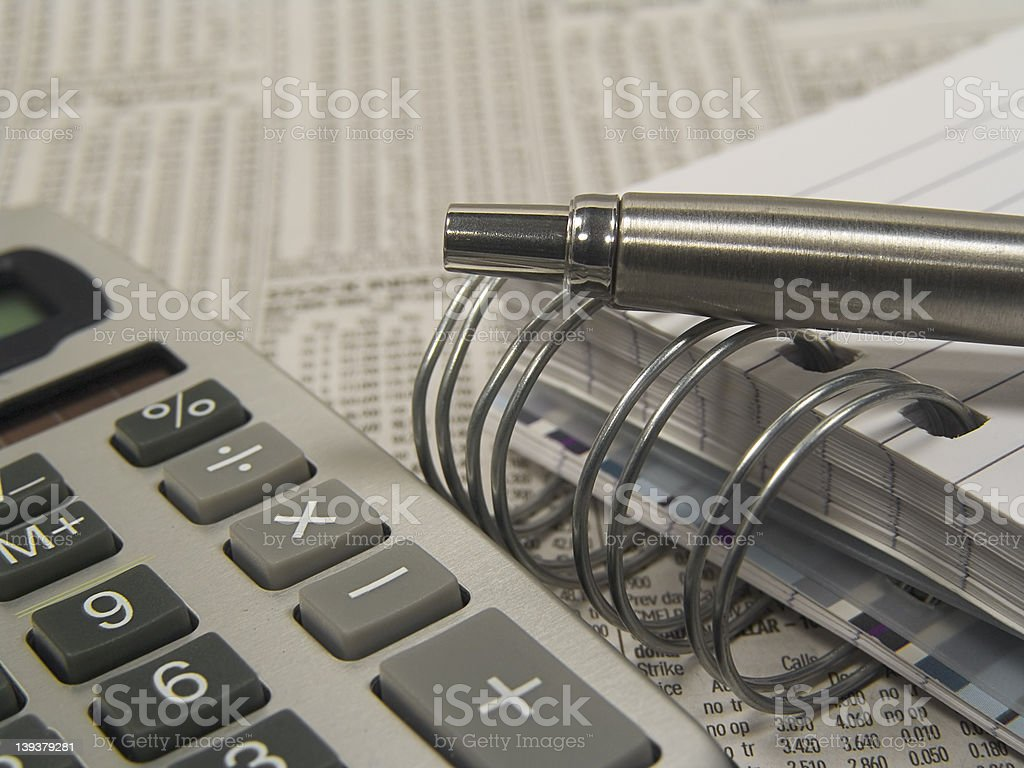 Business Objects 4 royalty-free stock photo
