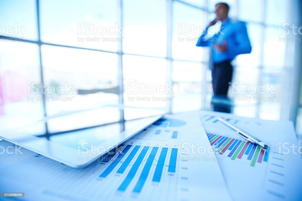 Business objects stock photo