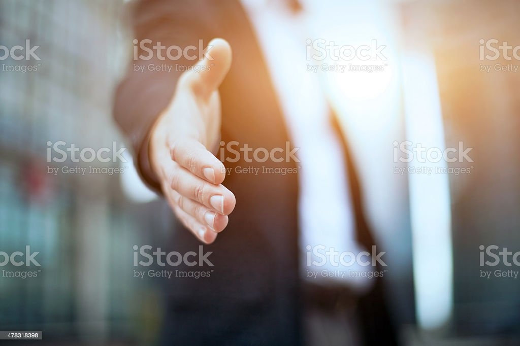 Business offer stock photo