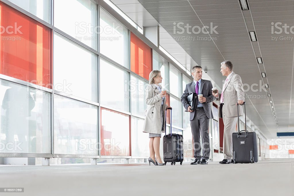 Business on the go stock photo