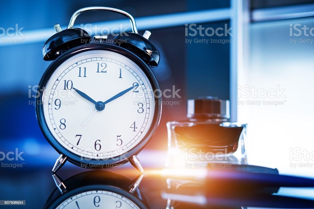Business on Time stock photo