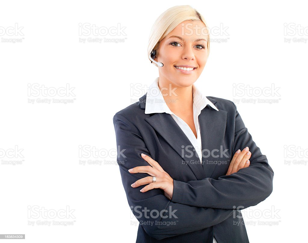 Business operator royalty-free stock photo
