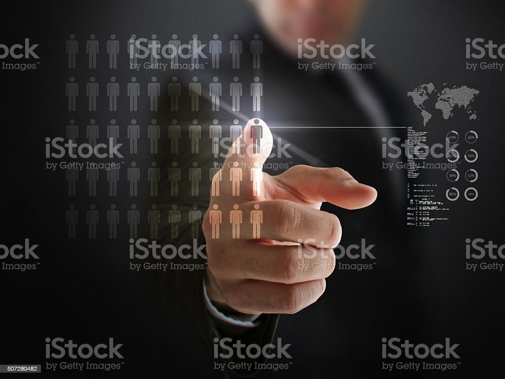 Business Opportunities and Population stock photo