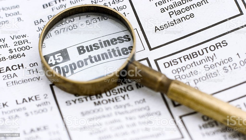 business opportunities royalty-free stock photo