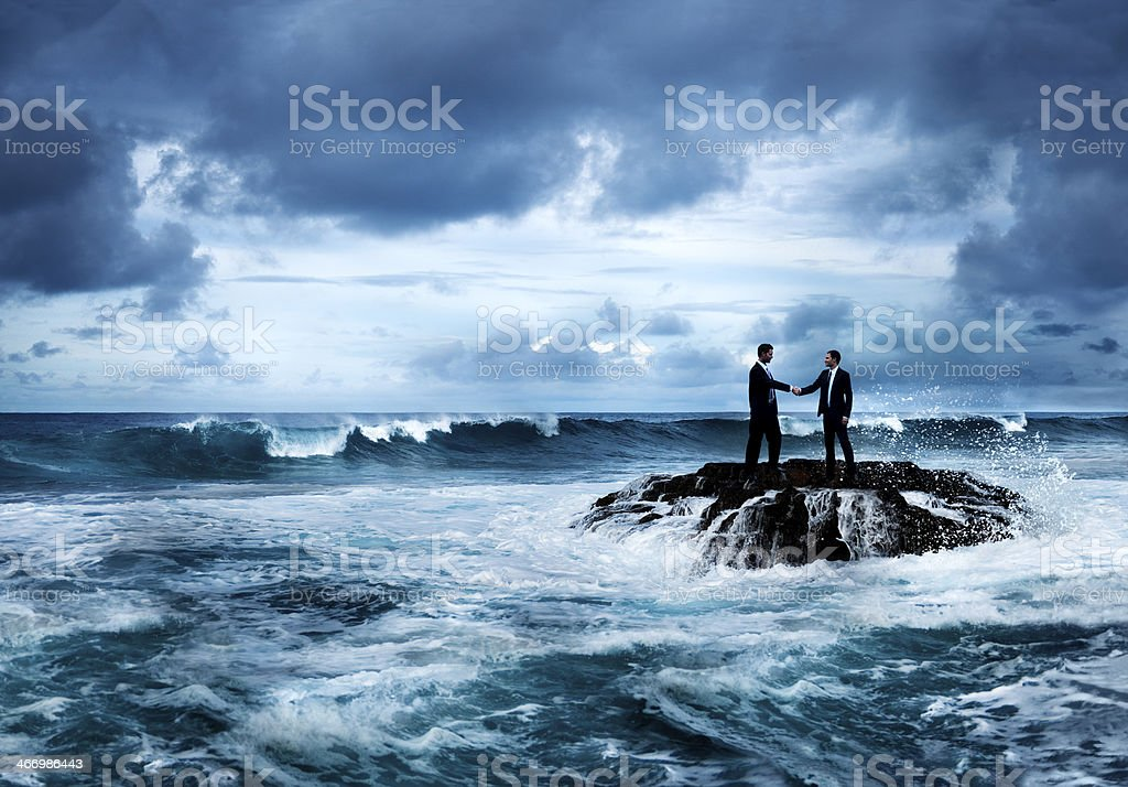 Business Opportunity in Crisis stock photo