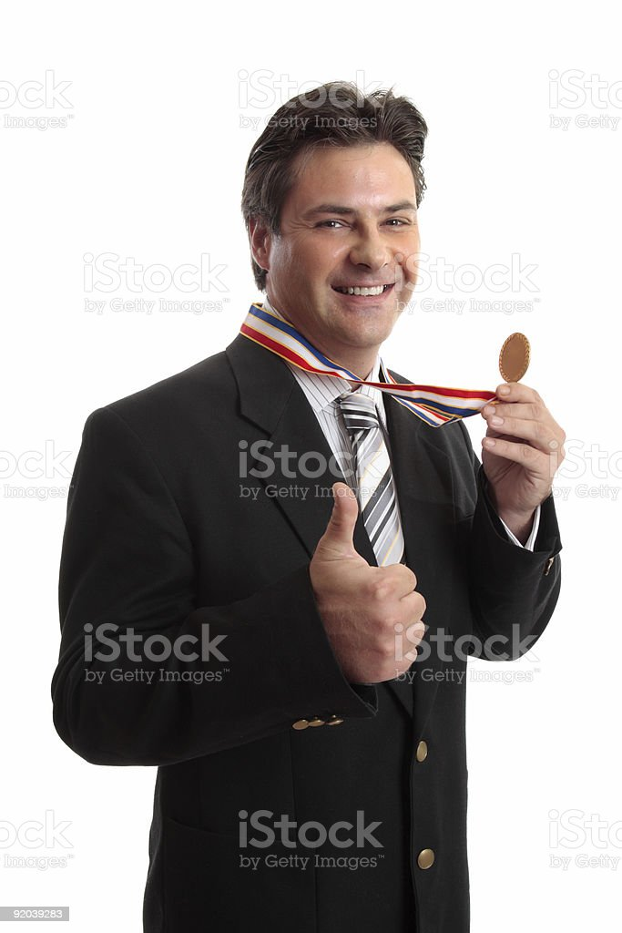 Business or personal success royalty-free stock photo