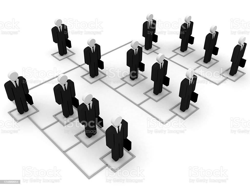 Business Organization royalty-free stock photo