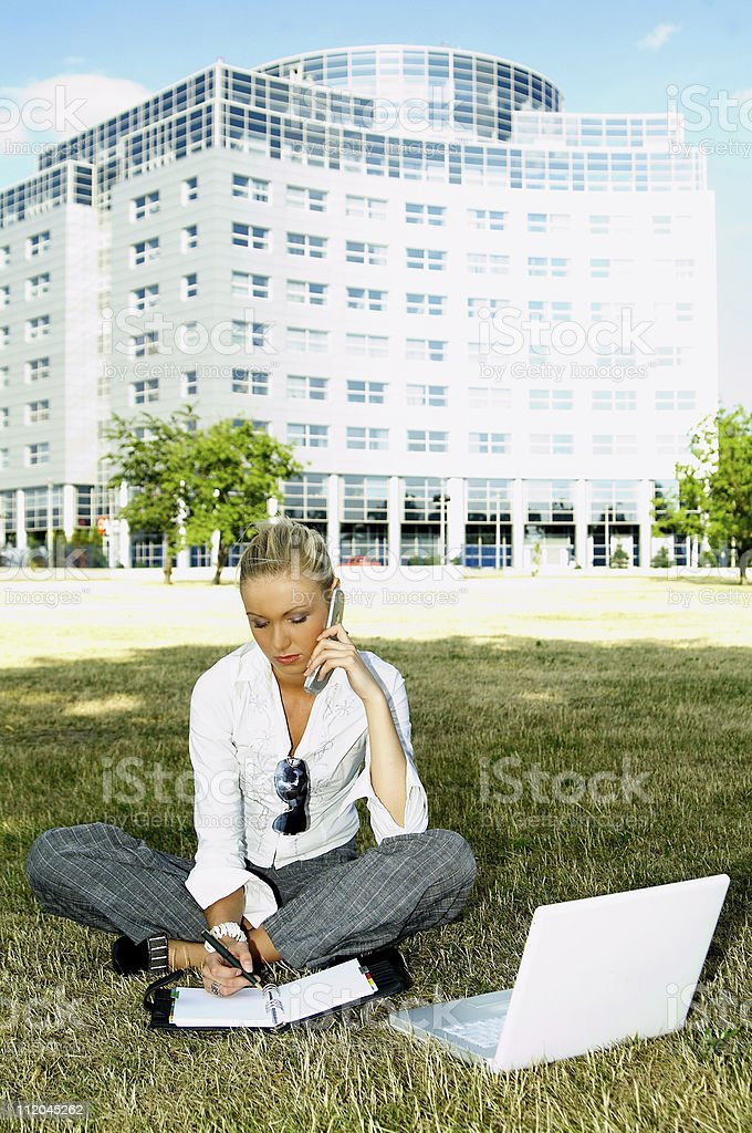Business Outdoors 2 royalty-free stock photo