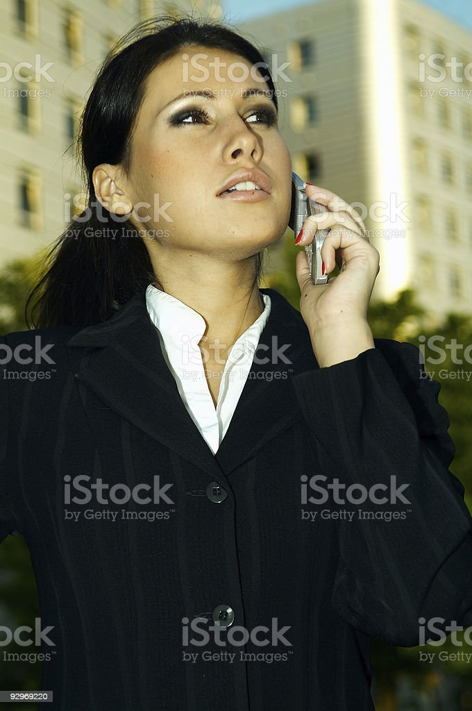 Business Outdoors royalty-free stock photo