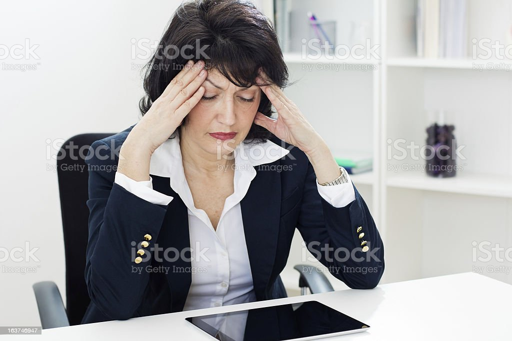 Business overworked stock photo
