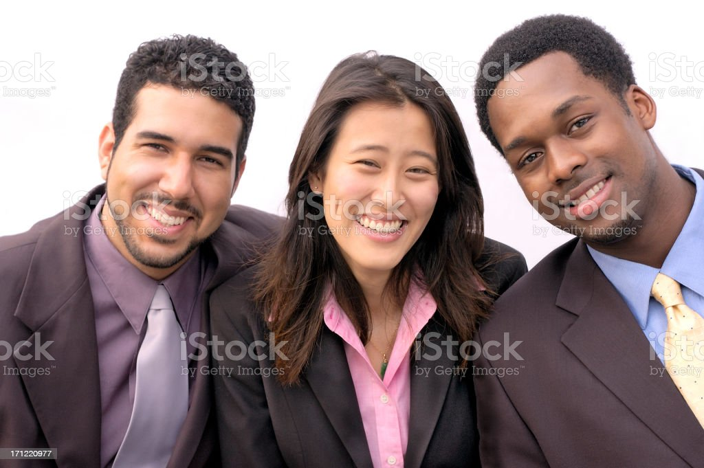 business pals stock photo
