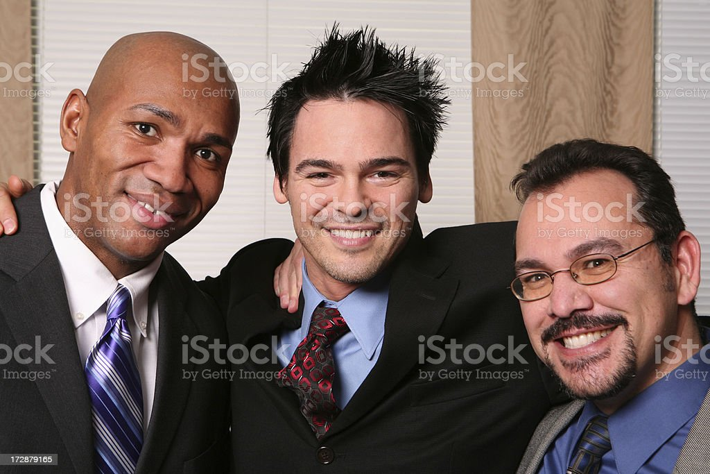 Business Pals royalty-free stock photo