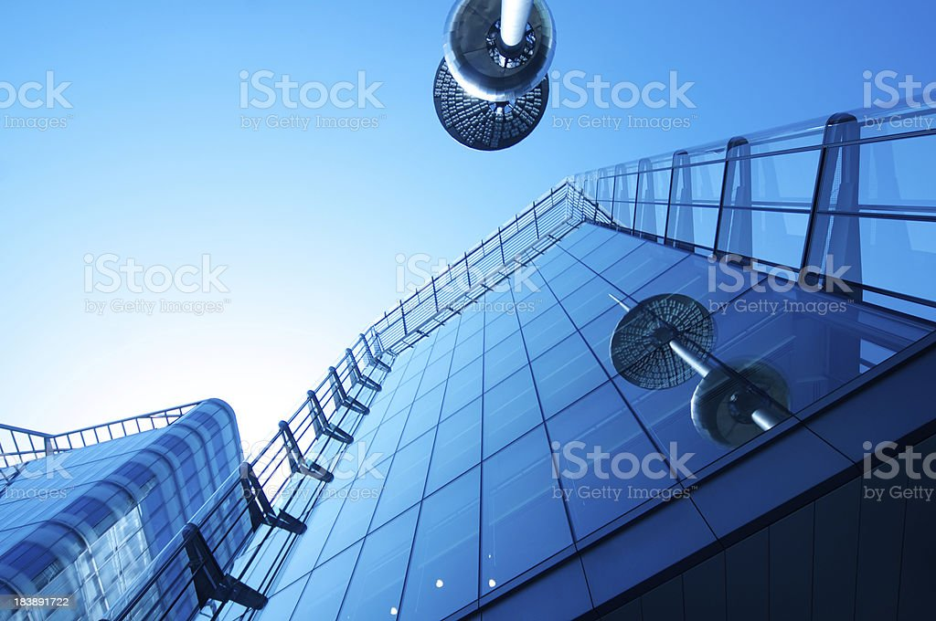 Business Park royalty-free stock photo